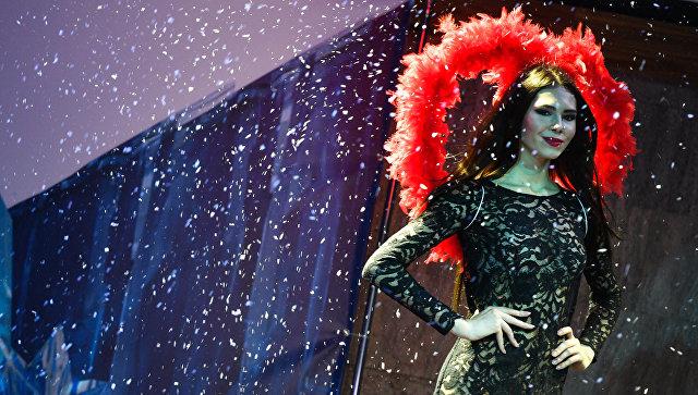 Надежда Бастрыгина (Магнитогорск) выступает в финале Всероссийского конкурса Топ Модель России-2016 в Korston Club Hotel в Москве