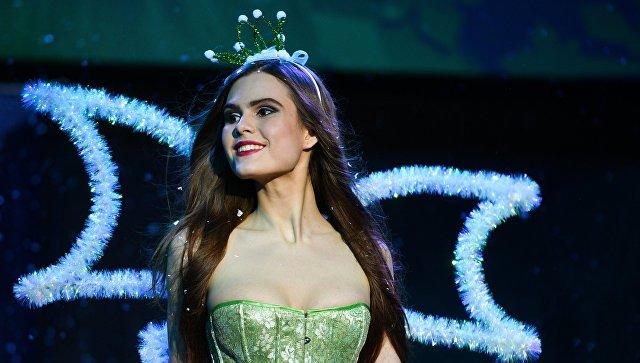Серафима Лапаник (Брянск) выступает в финале Всероссийского конкурса Топ Модель России-2016 в Korston Club Hotel в Москве
