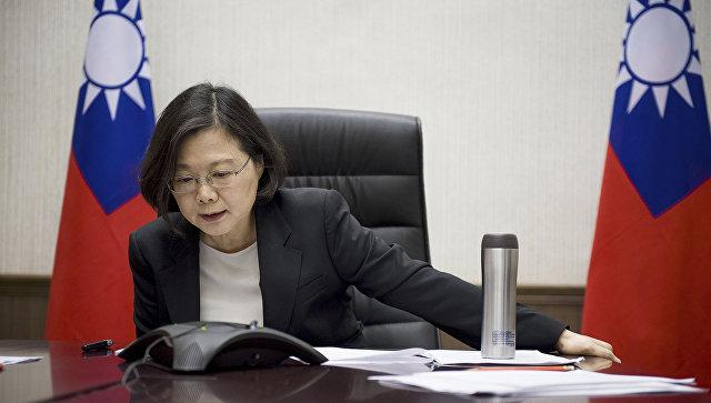Глава администрации Тайваня Цай Инвэнь. Архивное фото