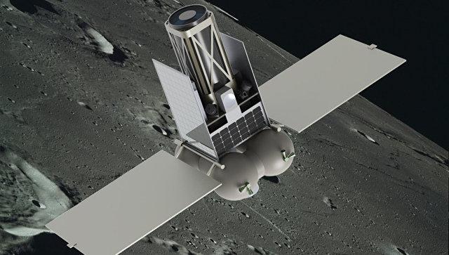 Макет российского лунного спутника, создаваемого командой Виталия Егорова