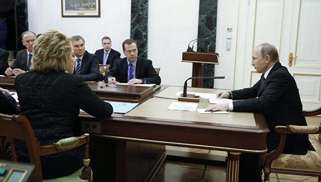 Путин 7декабря обсудит сСовбезом экономическую безопасность
