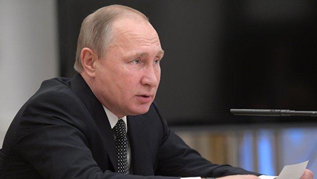 Путин: санкции используются вполитических целях вконкурентной борьбе