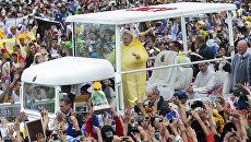 Папа римский Франциск в Маниле, Филиппины