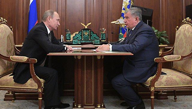 Приватизация части акций «Роснефти» принесет вбюджет 10,5 млрд. евро