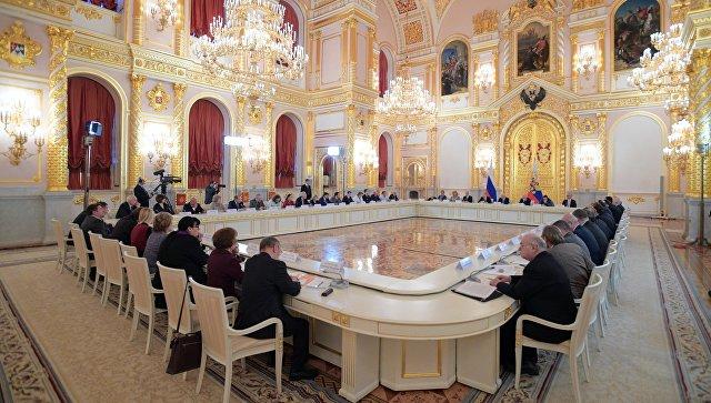 Заседание Совета по развитию гражданского общества и правам человека. Архивное фото