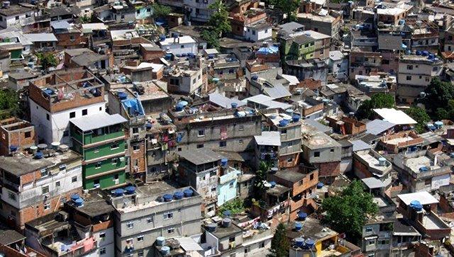 Вфавелах Рио-де-Жанейро убит турист изИталии