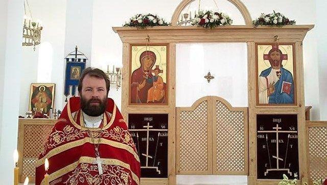 Настоятель храма святой равноапостольной Марии Магдалины протоиерей Андрей Кордочкин