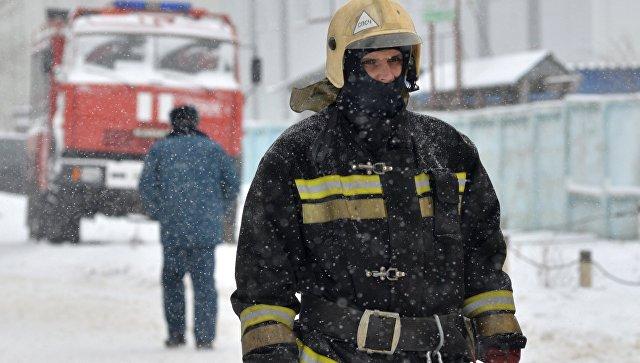 В Екатеринбурге загорелась типография
