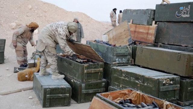Пентагон: «ИГИЛ» мог захватить вПальмире танки исредства ПВО