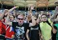 Российские болельщики после матча группового этапа чемпионата Европы по футболу - 2016