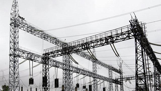 Электроподстанция, архивное фото