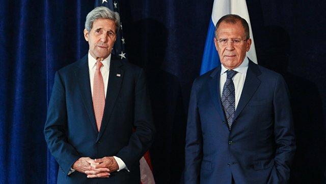 Лавров указал Керри, что Дамаск готов предоставить выход боевикам изАлеппо