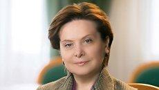 Губернатор Ханты-Мансийского автономного округа Наталья Комарова. Архивное фото