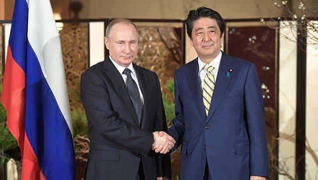 Путин иАбэ согласовали восстановление контактов полинии военных