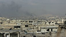 Вид на кварталы Алеппо. Архивное фото