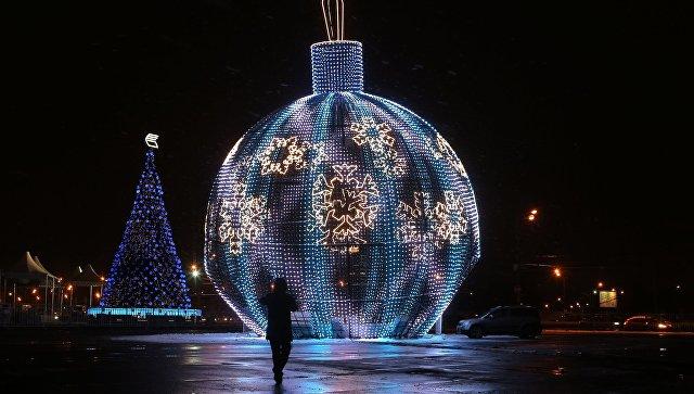 Новогодняя ночь в российской столице будет теплой