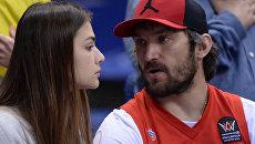 Хоккеист Александр Овечкин и актриса Анастасия Шубская. Архивное фото