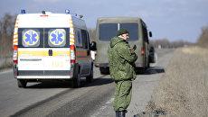 Обмен пленными между ЛНР и Киевом . Архивное фото