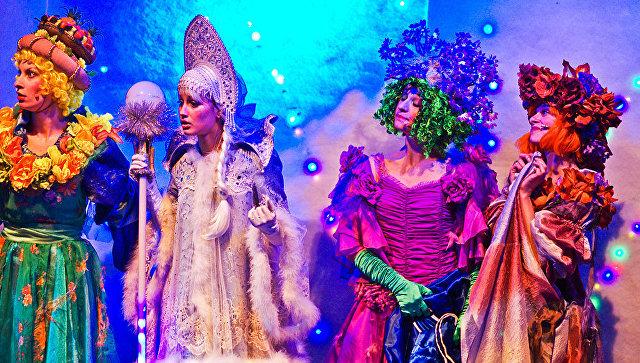 Интерактивный спектакль Новогодний переполох в Московском театре Кураж