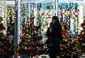 Рождественский базар на улице Петровка в Москве