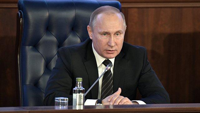 Путин оценил экологический вред в Российской Федерации