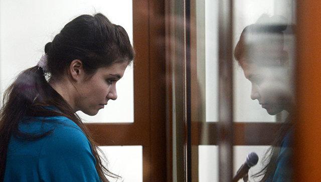 Оглашение приговора Варваре Карауловой. Архивное фото