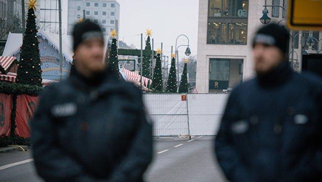 ВБерлине перекрыто движение из-за проведения полицейской операции