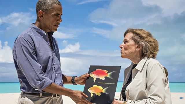 Красочная рыбка сГавайев получила название вчесть Барака Обамы