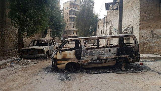 Сирийские военные обнаружили в одной из школ Алеппо тела казненных людей