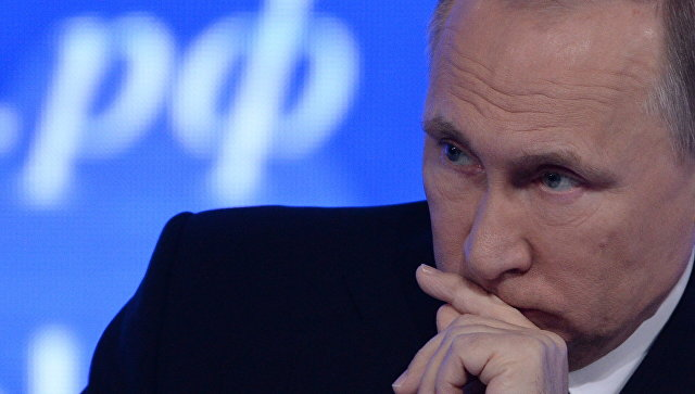 Путин: Предпосылки для новоиспеченной гонки вооружений создали США