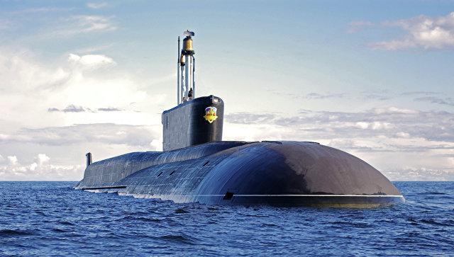 Стратегическая атомная подводная лодка (проект 955 Борей) Александр Невский, архивное фото