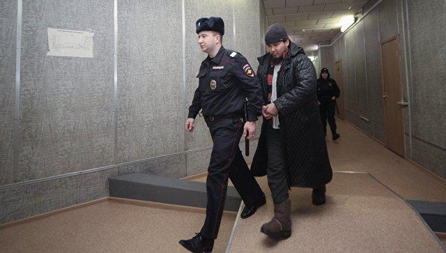 Арест участников запрещенной на территории РФ экстремистской организации Таблиги Джамаат в Мещанском суде. 23 декабря 2016