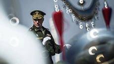 Главный военный дирижер РФ Валерий Халилов. Архивное фото