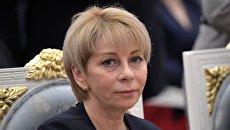 Директор организации Справедливая помощь Елизавета Глинка (Доктор Лиза)