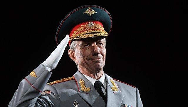 Главный военный дирижер вооруженных сил РФ Валерий Халилов