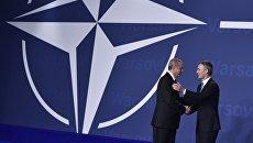 Генеральный секретарь НАТО Йенс Столтенберг и президент Турции Тайип Эрдоган. Архивное фото