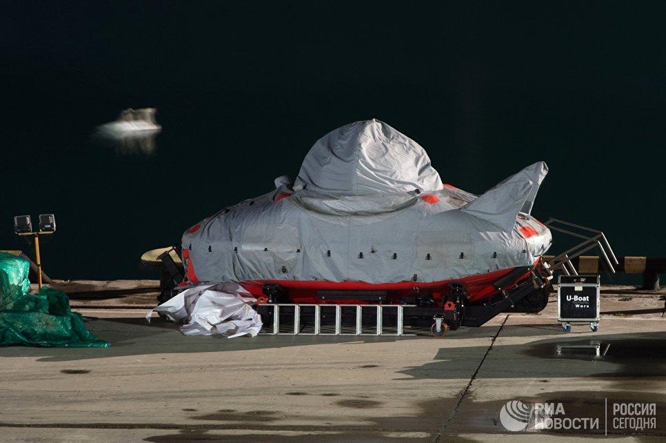 Продолжаются поисковые работы в районе авиакатастрофы Ту-154 в Сочи