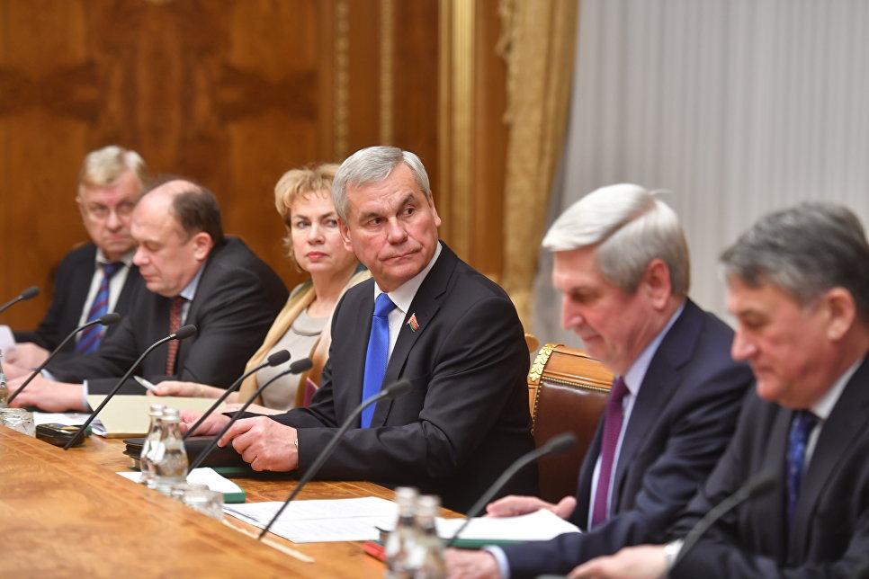 Следующую сессию Парламентского собрания Союза Белоруссии и Российской Федерации проведут набелорусской территории