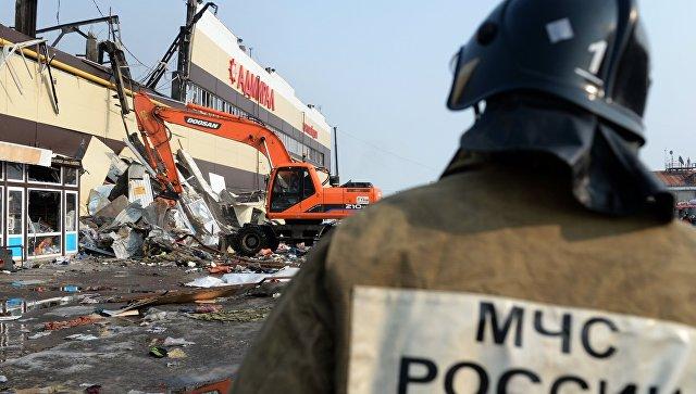 Окончено следствие поделу опожаре вказанскомТЦ «Адмирал»