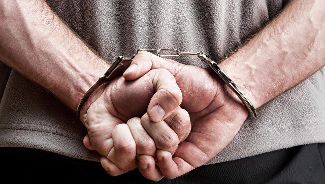 Арестованный, архивное фото