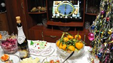 Встреча Нового года в России. Архивное фото