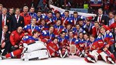 Хоккей. Молодежный чемпионат мира. Матч за 3-е место
