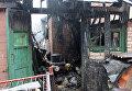 Последствия обстрела села Зайцево в Донецкой области