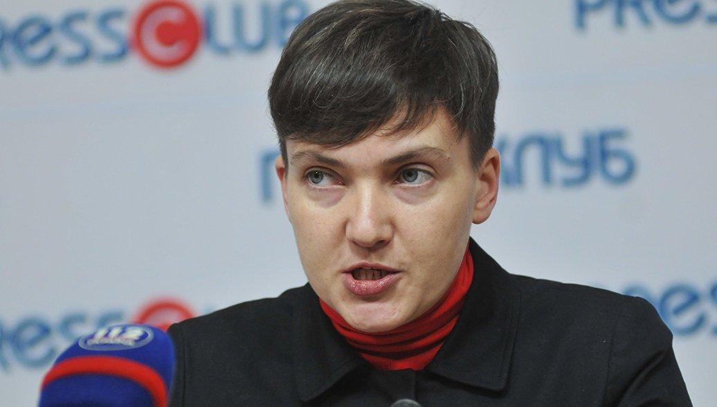 Пресс-конференция Надежды Савченко. Архивное фото