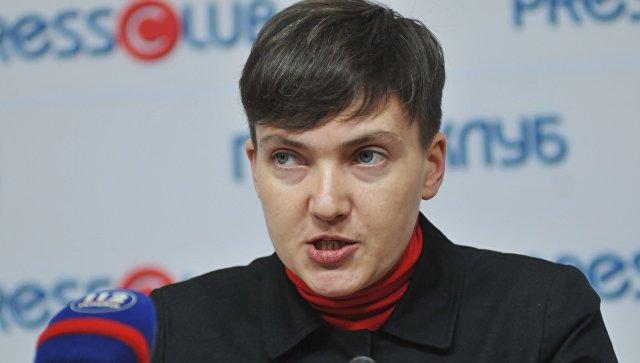 Савченко желает разместить списки военнопленных