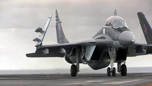 Многоцелевой истребитель МиГ-29 ВКС РФ. Архивное фото