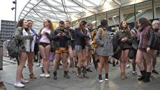 День без штанов – как прошел ежегодный флешмоб в Лондоне и Берлине