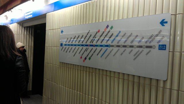 Вметро Петербурга мужчина толкнул приятеля под поезд