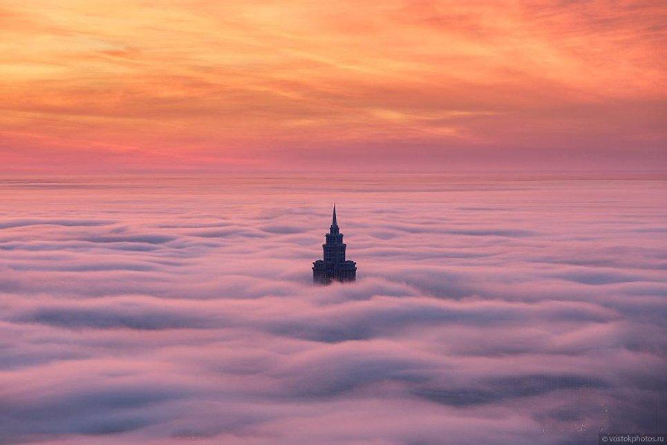 Москва под облаками. Триумф-Палас
