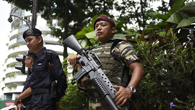 Малайзийская полиция. Архивное фото